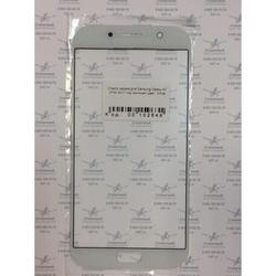 Стекло экрана для Samsung Galaxy A7 A720 2017 (102649) (белый)