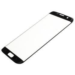 Стекло экрана для Samsung Galaxy S7 Edge G935 (101716) (черный) (1 категория Q)