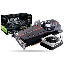 Inno3D GeForce GTX 1080 1607Mhz PCI-E 3.0 11264Mb 11400Mhz 352 bit DVI HDMI 3xDP HDCP iChill Black RTL