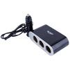 Разветвитель прикуривателя на 3 гнезда + 1хUSB (BLAST BCA-311) - Разветвитель прикуривателяРазветвители прикуривателя<br>BLAST BCA-311 - разветвитель прикуривателя, 1xUSB, 3 гнезда прикуривателя, DC 12-24 В, индикация работы, длина кабеля 60см, 3.1А, 60Вт.<br>