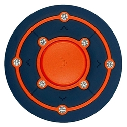 Ritmix RF-2850 8Gb (оранжевый, синий)