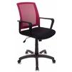 Бюрократ CH-498/CH/TW-11 (черный, бордовый) - Стул офисный, компьютерныйКомпьютерные кресла<br>Бюрократ CH-498/CH/TW-11 - офисное кресло, материал обивки: ткань, сетчатая ткань (спинка), регулировка высоты (газлифт), механизм качания с регулировкой под вес и фиксацией в вертикальном положении, крестовина и подлокотники из пластика, максимальный вес 120 кг.<br>