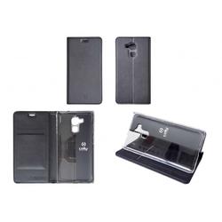 Чехол-книжка для Huawei Honor 6A (Celly Air Case AIR675BKCP) (черный)