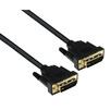Кабель DVI-D 25pin (M)-DVI-D 25pin (M) Dual Link 5м (Exegate EX257296RUS) (черный) - Кабель, переходникКабели, шлейфы<br>Экранированные кабель, материал проводников: медь, покрытие контактов: золото, длина 5м.<br>