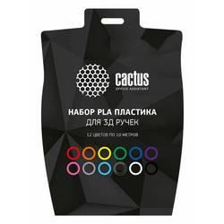 Cactus CS-3D-PLA-12X10M (12 цветов)