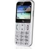 Fly Ezzy 9 (белый) ::: - Мобильный телефонМобильные телефоны<br>GSM, вес 117 г, ШхВхТ 58x119.5x12.75 мм, экран 2.3, 320x240, FM-радио, Bluetooth, фотокамера 0.30 МП, память 32 Мб, аккумулятор 1500 мАч.<br>