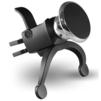Универсальный автомобильный магнитный держатель в вентиляционную решетку (Ginzzu GH-31M) (черный) - Универсальный автомобильный держательУниверсальные автомобильные держатели для телефонов и планшетов<br>Универсальный автомобильный магнитный держатель для телефонов и планшетов весом до 540 г в вентиляционную решетку салона автомобиля. Поворот на 360 градусов, угол наклона 90 градусов.<br>