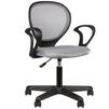 Кресло офисное College H-2408F (серый) - Стул офисный, компьютерныйКомпьютерные кресла<br>College H-2408F - кресло офисное, ткань, сетчатый акрил, макс. вес 120 кг, крестовина и подлокотники: пластик, 55x55x77-89 см.<br>