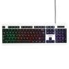 Гарнизон GK-110L USB Black-White - Мыши и КлавиатурыМыши и Клавиатуры<br>Проводная клавиатура, интерфейс подключения: USB, 104 клавиши, 9 дополнительных клавиш для управления различными приложениями, подсветка.<br>