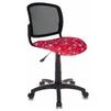 Бюрократ CH-296/ANCHOR-RD (черный, красный, рисунок якоря) - Стул офисный, компьютерныйКомпьютерные кресла<br>Бюрократ CH-296/ANCHOR-RD - кресло детское, спинка (сетка), крестовина из пластика, без подлокотников, регулировка высоты (газлифт), макс. вес: 100 кг.<br>