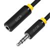 Аудио удлинитель Jack 3.5 mm (m) - Jack 3.5 mm (f) 15.0m (Greenconnect GCR-STM1114-15.0m) (черный) - Кабель, разъем для акустической системыКабели и разъемы для акустических систем<br>Используется, когда не хватает длины кабеля у акустической системы, наушников или колонок для подключения к устройству, которое служит источником звука.<br>