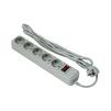 Сетевой фильтр 5 розеток 5м (Exegate SP-5-5G) (серый) - Сетевой фильтрСетевые фильтры<br>Тип розеток: евророзетка с заземлением 5шт., тип вилки: евровилка с заземлением, защита от короткого замыкания и перегрева: автоматический предохранитель, защита от высоковольтных разрядов и импульсных помех: варисторная защита.<br>