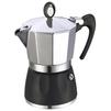 GAT DIVA (6 чашек) (черный) - Кофеварка, кофемашинаКофеварки и кофемашины<br>Кофеварка гейзерная, тип используемого кофе - молотый, тип нагревателя - термоблок, режим приготовления - полуавтоматический, материал корпуса - алюминий.<br>