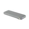 Адаптер USB-Cдля ноутбука,5 в 1 (Red Line YT000012173) (серый) - АксессуарДополнительные аксессуары для ноутбуков<br>Мультифункциональный адаптер Type-C 5-в-1 - это многопортовый цифровой адаптер для ноутбука, который предназначен для одновременного подключения нескольких устройств с разъемами USB-A, USB-C и карт памяти SD/MicroSD.<br>