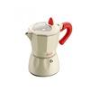 Кофеварка гейзерная GAT Rossana (3 чашки) (белый) - Посуда для готовкиПосуда для готовки<br>Материал корпуса - алюминий. Объем 1 чашки - 50 мл. Размер - 3 чашки. Подходит для газовых, электрических, стеклокерамических плит.<br>