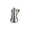 Кофеварка гейзерная GAT Regina (6 чашек) - Посуда для готовкиПосуда для готовки<br>Материал корпуса - нержавеющая сталь. Объем 1 чашки - 50 мл. Размер - 6 чашек. Подходит для газовых, электрических, стеклокерамических, индукционных плит<br>