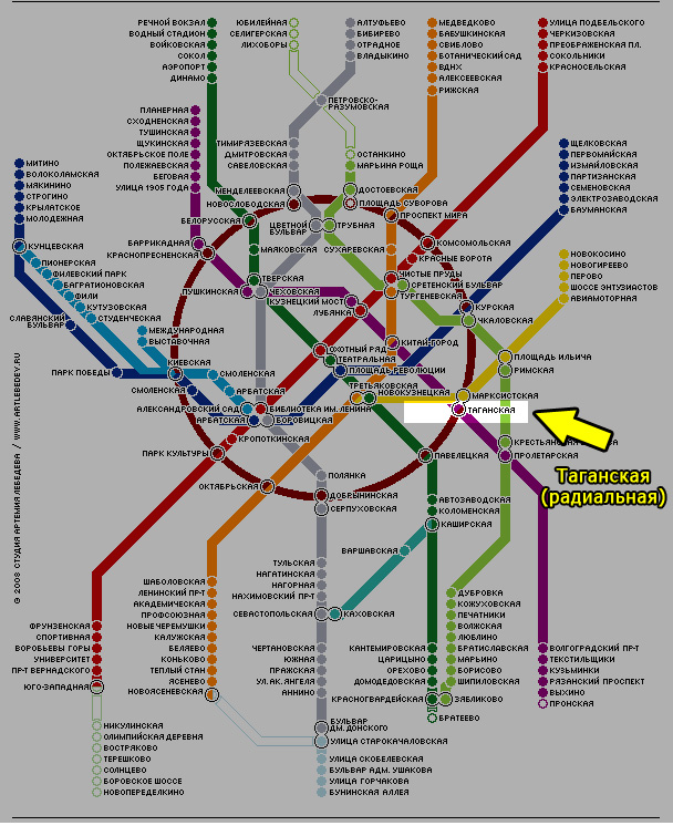 Схема метро в вашем мобильном