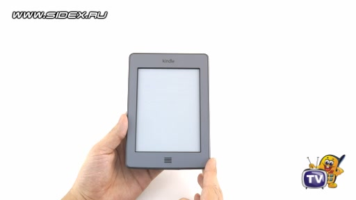 Видеообзор Amazon Kindle Touch