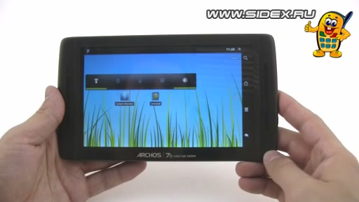 Видеообзор Archos 70 internet tablet 8Gb (черный)