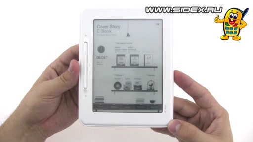 Видеообзор ebook iRiver Cover Story (iRiver EB05 2Gb)