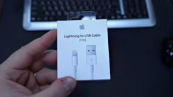 ���������� ����-������ Lightning - USB 1 � ��� Apple iPhone 5, 5C, 5S, 6, 6 plus, iPad 4, Air, Air 2, mini 1, mini 2, mini 3 (MD818ZM/A) (�����)
