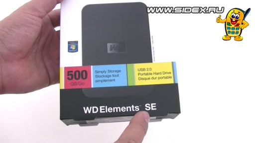���������� Western Digital WDBABV5000ABK-EESN 500Gb WD Elements Portable SE 2.5 HDD (������)