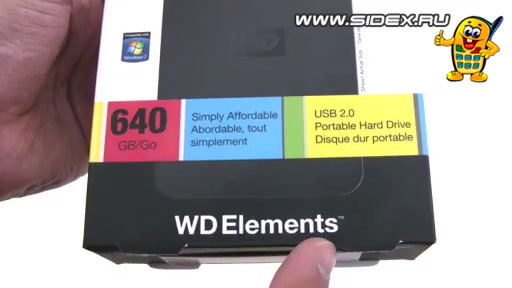 ���������� Western Digital WDBAAR6400ABK-EESN 640Gb WD Elements Portable 2.5 HDD (������)