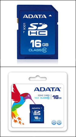sd sdhc 16gb class 10 (a-data asdh16gcl10-r)