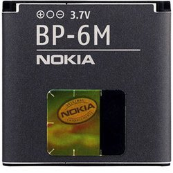 Аккумулятор для Nokia 3250, 6233, 6280, 9300, 9300i, N73 (Nokia BP-6M) - Аккумулятор