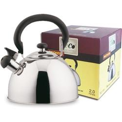 Чайник Teco TC-119 - Посуда для готовкиПосуда для готовки<br>Чайник Teco TC-119 - объем 2.0 л, со свистком, материал - нержавеющая сталь, капсулированное дно.