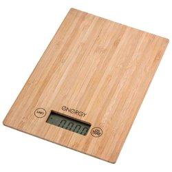 Energy EN-426 - Кухонные весыКухонные весы<br>Energy EN-426 - электронные, предел взвешивания 5 кг, точность измерения +/- 1 г, материал платформы чаши: дерево, тарокомпенсация, индикатор заряда батареи, автоматическое выключение