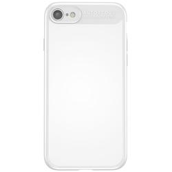 Чехол-накладка для Apple iPhone 7, 8 (Baseus Mirror Case WIAPIPH7-MJ02) (белый) - Чехол для телефонаЧехлы для мобильных телефонов<br>Чехол плотно облегает корпус и гарантирует надежную защиту телефона от царапин, потертостей и других внешний воздействий.