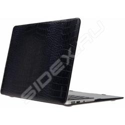 Кожаный чехол для Apple MacBook Air 11 (Heddy Leather Hardshell OEM-N-A-11-01-04) (темно-синий крокодил) (ОЕМ) - Сумка для ноутбукаСумки и чехлы<br>Обеспечит надежную защиту вашего ноутбука от повреждений.