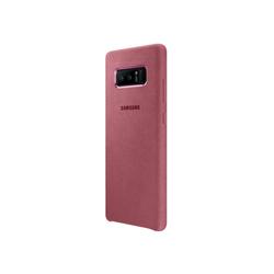 Чехол-накладка для Samsung Galaxy Note 8 (Alcantara Cover EF-XN950APEGRU) (розовый) - Чехол для телефонаЧехлы для мобильных телефонов<br>Чехол плотно облегает корпус и гарантирует надежную защиту от царапин и потертостей.