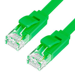 Патч-корд UTP кат. 6, RJ45 2м (Greenconnect GCR-LNC625-2.0m) (зеленый)