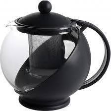 Чайник заварочный Promo PR-K801 (черный) - Посуда для готовкиПосуда для готовки<br>Чайник заварочный Promo PR-K801, 0.75 л, материал - термостойкий пластик, жаропрочное стекло.