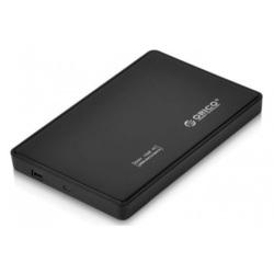 Контейнер для HDD 2.5 Orico 2588US-BK (черный) - Корпус, док-станция для жесткого дискаКорпуса и док-станции для жестких дисков<br>Orico 2588US-BK - корпус для HDD 2,5quot; SATA, интерфейс USB 2.0. Корпус выполнен из пластика.