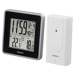 Hama EWS Intro H-176924 (белый) - Цифровая метеостанция