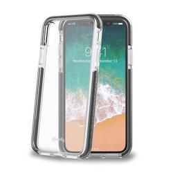 Чехол-накладка для Apple iPhone X (Celly Hexagon HEXAGON900BK) (черный) - Чехол для телефонаЧехлы для мобильных телефонов<br>Чехол плотно облегает корпус и гарантирует надежную защиту от царапин и потертостей.