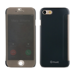Чехол-книжка для Apple iPhone 7, 8 ( Muvit Folio MUTSF0004) (черный) - Чехол для телефона Маркс поиск новое