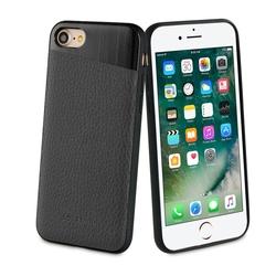 Чехол-накладка для Apple iPhone 7, 8 (So Seven SVNCSMPU5IP7) (черный) - Чехол для телефонаЧехлы для мобильных телефонов<br>Чехол плотно облегает корпус и гарантирует надежную защиту от царапин и потертостей.