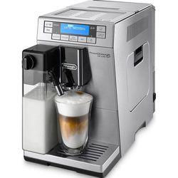 Delonghi PrimaDonna XS ETAM36.364.M (серебристый) - Кофеварка, кофемашинаКофеварки и кофемашины<br>Кофемашина-эспрессо, автоматическая, для зернового и молотого кофе, кофемолка с регулировкой степени помола, контроль крепости кофе, настройка температуры, регулировка порции воды, самоочистка от накипи, приготовление капучино, настройка времени старта.