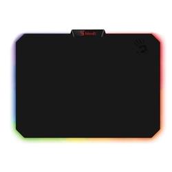 Коврик для мыши A4Tech Bloody MP-60R (черный, рисунок) - Коврик для компьютерной мышиКоврики для мышей<br>A4Tech Bloody MP-60R - коврик для компьютерной мыши, игровой, материал: ткань, основа: резина, размеры: 354x256x2.60мм, RGB-подсветка.