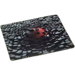 Коврик для мыши Oklick OK-F0281 (рисунок, разрушение) - Коврик для компьютерной мышиКоврики для мышей<br>Oklick OK-F0281 - коврик для компьютерной мыши, игровой, материал: нейлоновая ткань, основа: резина, размеры: 280х225х3мм.
