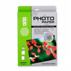 Фотобумага глянцевая A4 (50 листов) (Cactus CS-GA420050ED) - БумагаОбычная, фотобумага, термобумага для принтеров<br>Предназначена для струйной печати цифровых фотографий с максимальным разрешением.