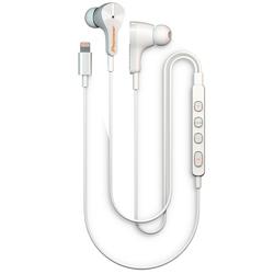 Pioneer SE-LTC3R (белый) - НаушникиНаушники и Bluetooth-гарнитуры<br>Pioneer Rayz SE-LTC3R - наушники с микрофоном, проводные, вкладыши, закрытые, Lightning, поддержка Iphone, iPad с разъемом 8-рin, регулятор громкости, 10-20000Гц, длина кабеля 1.2м.