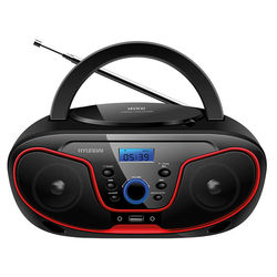 Hyundai H-PCD180 (черный, красный) - Магнитола