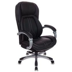Бюрократ T-9919 (черный) - Стул офисный, компьютерныйКомпьютерные кресла<br>компьютерное кресло до 120 кг, особенности: механизм качания, регулировка высоты сидения, регулировка высоты сиденья: «газлифт». Материал обивки: искусственная кожа.
