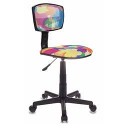 Кресло детское Бюрократ CH-299, ABSTRACT  - Стул офисный, компьютерныйКомпьютерные кресла<br>Кресло детское, регулировка высоты (газлифт), регулировка глубины сиденья, эргономичная спинка, ограничение по весу: 100 кг, тип установки на колесиках, спинка отдельная от сиденья.