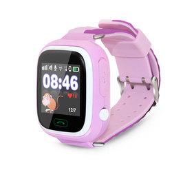 Ginzzu GZ-505 (розовый) - Умные часы, браслетУмные часы и браслеты<br>Умные часы, влагозащищенные, сенсорный экран 1.22quot;, встроенный телефон, совместимость с Android, iOS.